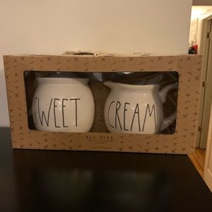 PRICE FIRM NEW RAE DUNN CREAM & SWEET